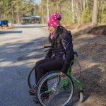 Einsatzgebiete-4 Wheellator mit Rollstuhlfunktion