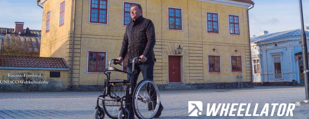 Wheellator Kombi-Rollator-Rollstuhl
