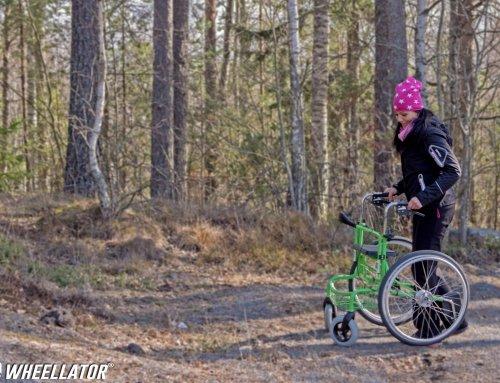 ALS Krankheit Hilfsmittel fördert Mobilität bei Symptome